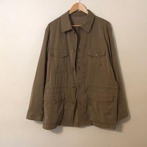 Vintage Carroll&Co drawstring jacket made in 🇮🇹